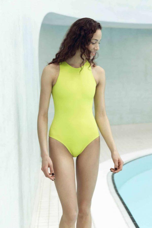 Maillots de bain CARDODIVE pistache CARDO Paris piscine swimwear joli élégant confortable français