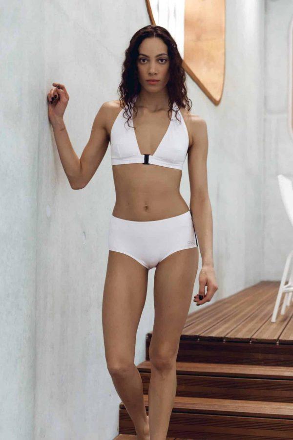 Maillot de bain CARDOSHORT blanc CARDO Paris piscine swimwear joli élégant confortable français