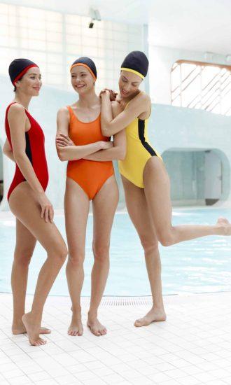 Maillot de bain colorés femme une piece - CARDO Paris - 3