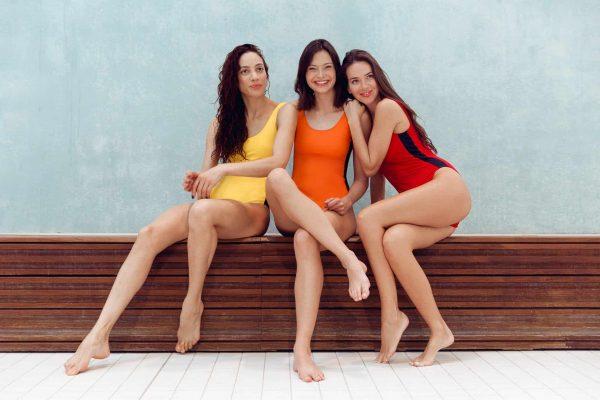 Maillot de bain colorés femme une piece - CARDO Paris - 4