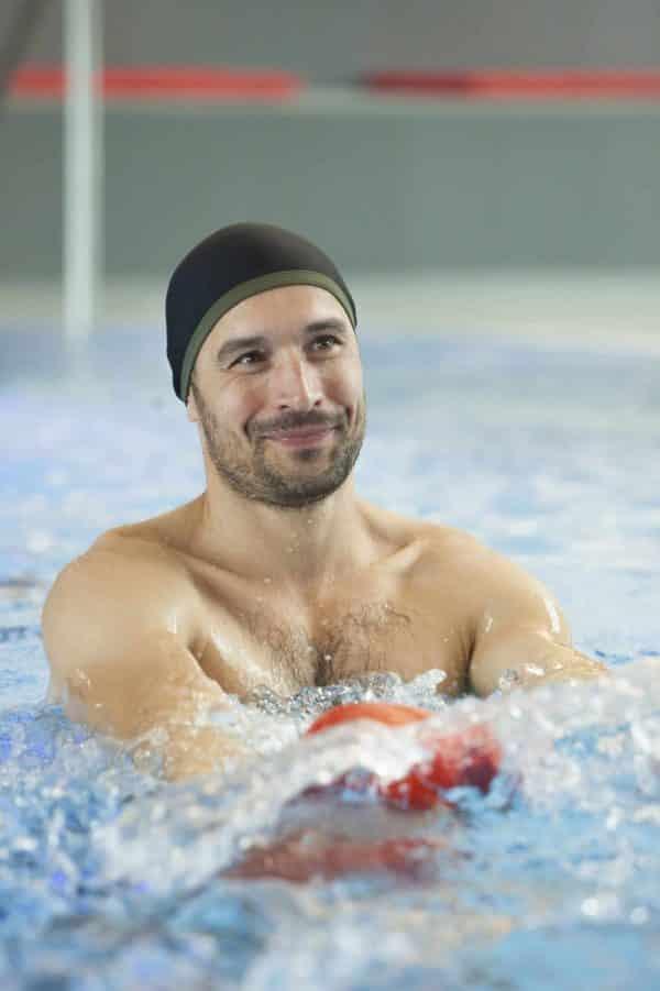 Bonnet de bain Ludi Kaki CARDO Paris piscine maillot de bain déperlant joli élégant confortable français