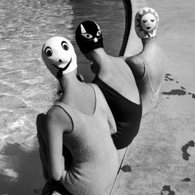 © Ralph Crane Bonnet de bain piscine